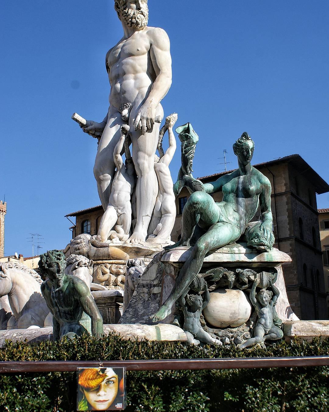 Biancone, Fontana del Nettuno, Piazza della Signoria